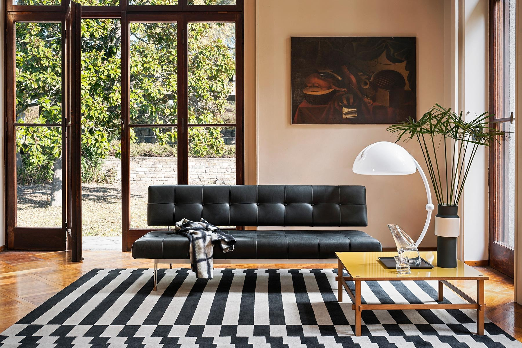 Gio Wood Coffee Table from Tacchini, designed by Gianfranco Frattini