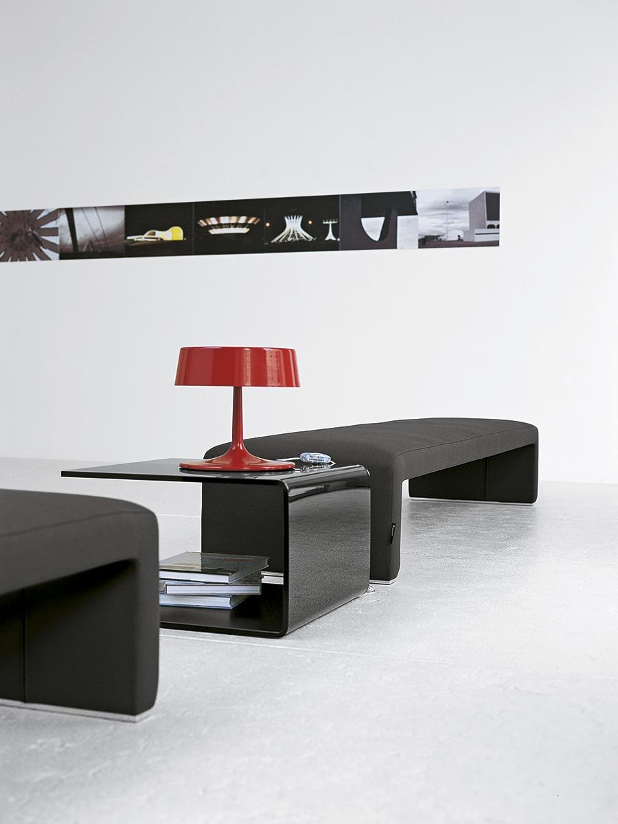 Labanca Glass Coffee Table from Tacchini, designed by Lievore Altherr Molina