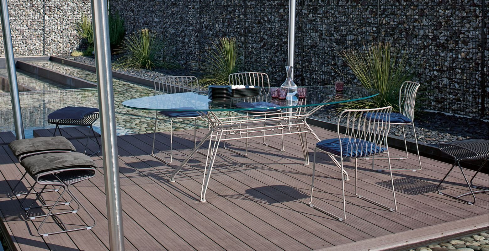 Sander Outdoor Table console from Bontempi