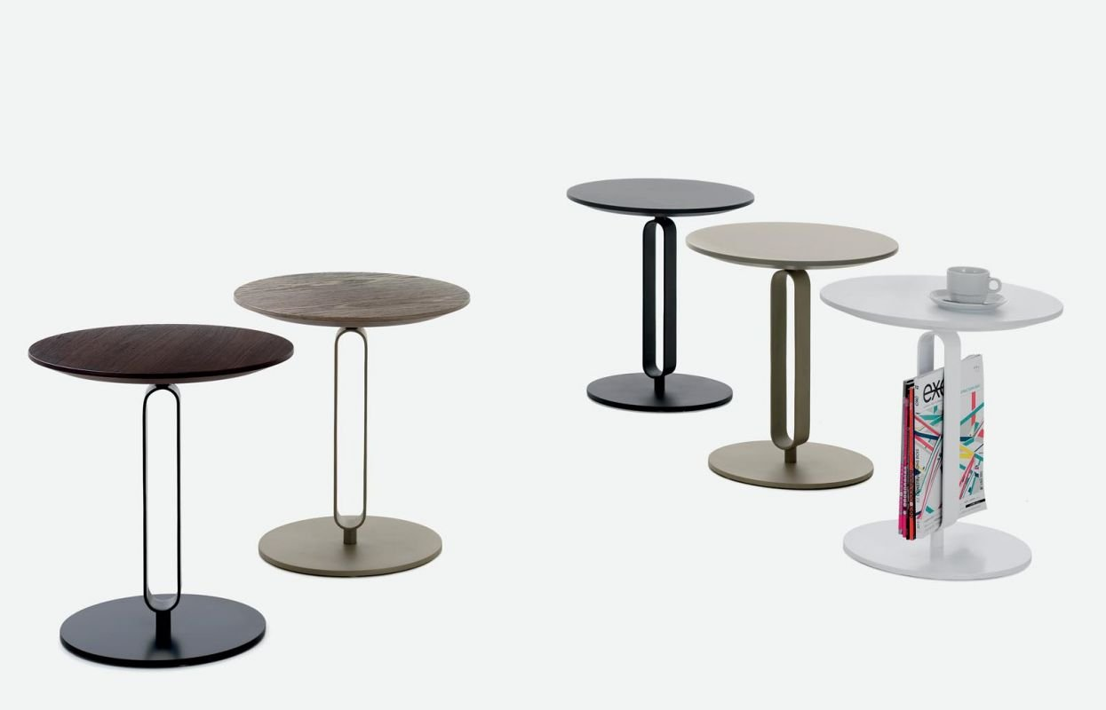 Alfred Coffee Table, end from Bontempi