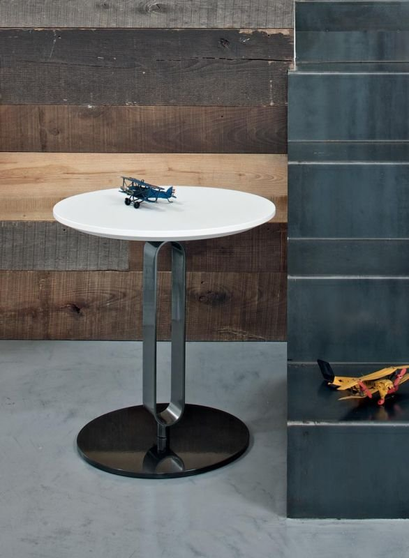 Alfred Coffee Table end from Bontempi, designed by Roberto Giacomucci