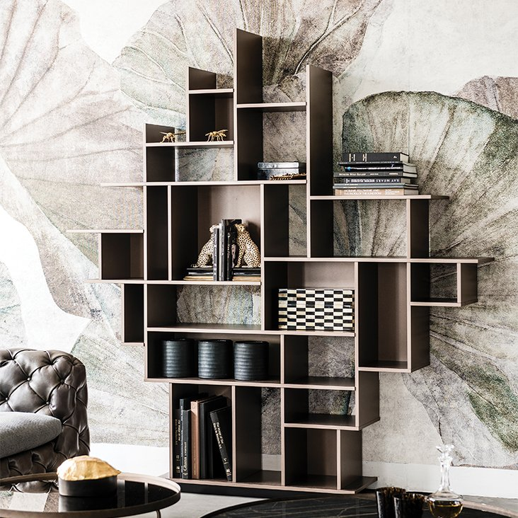 Harlem Bookcase from Cattelan Italia