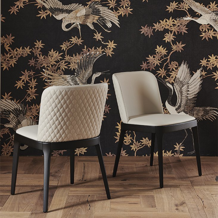 Magda Couture Dining Chair from Cattelan Italia