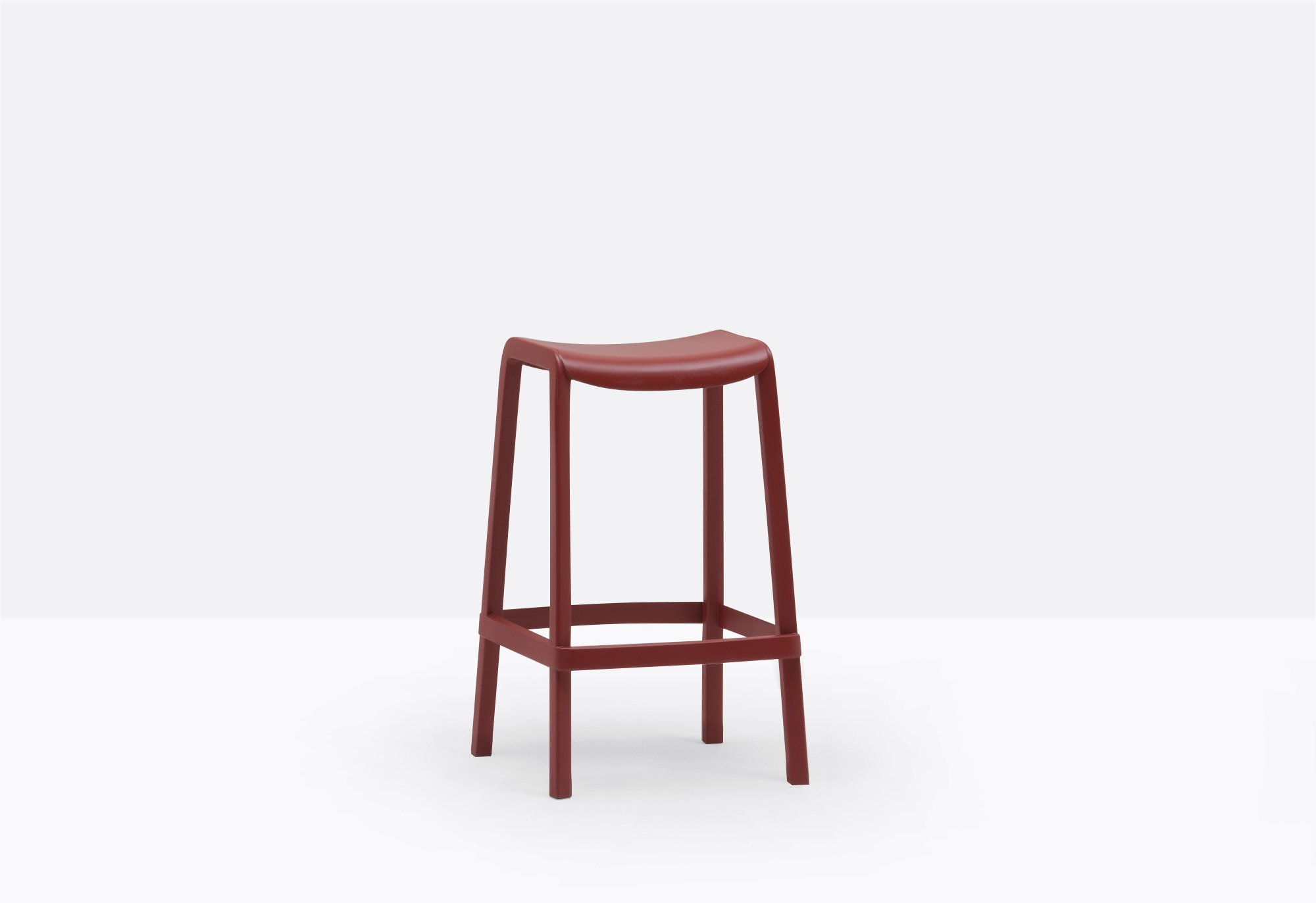 Dome Barstool from Pedrali, designed by Odoardo Fioravanti