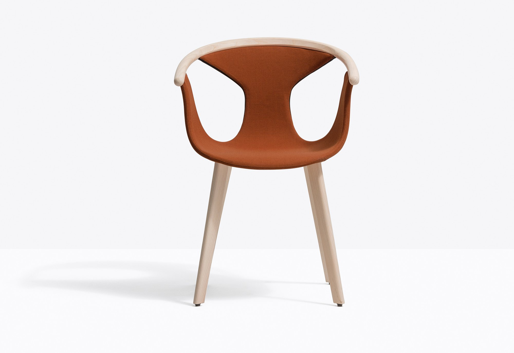 Fox Soft Chair from Pedrali, designed by Patrick Norguet