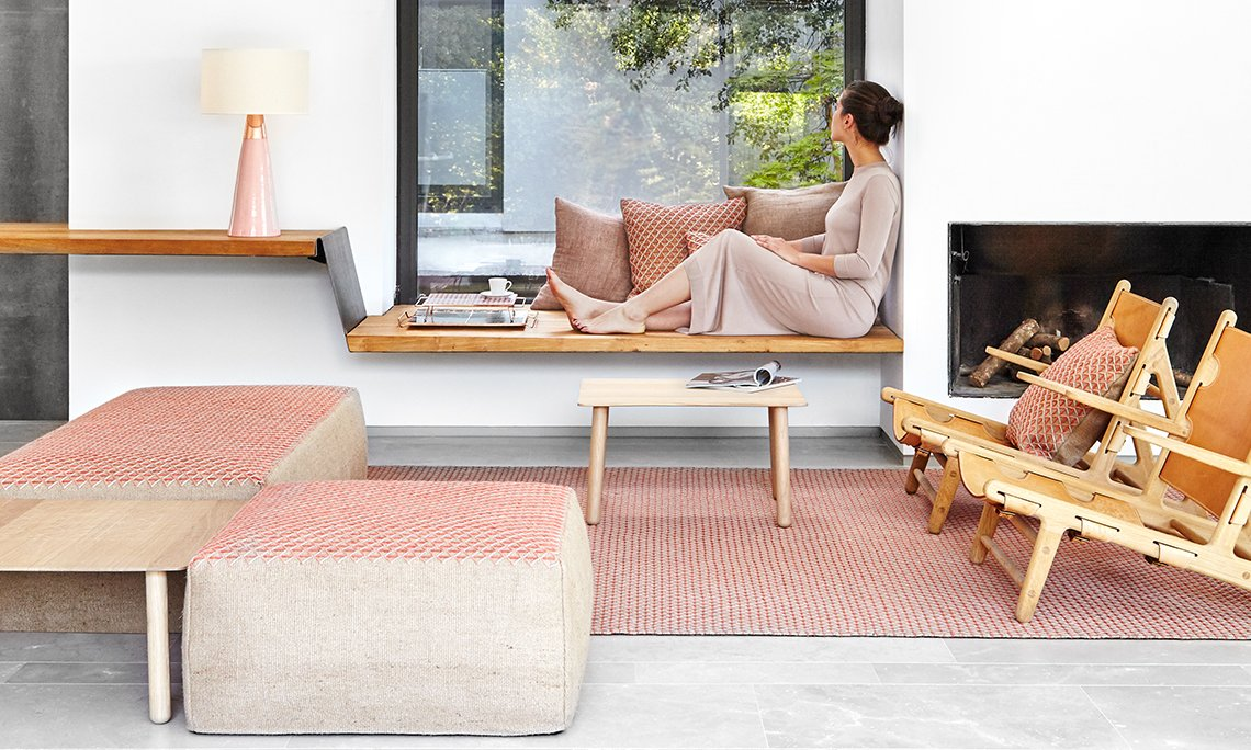 Spaces Raw Rugs from Gan Rugs, designed by Patricia Urquiola
