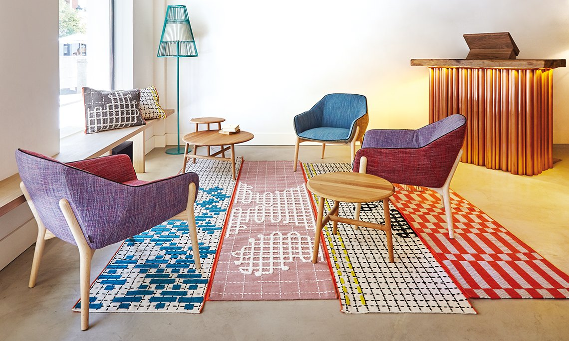Bandas Rugs from Gan Rugs, designed by Patricia Urquiola