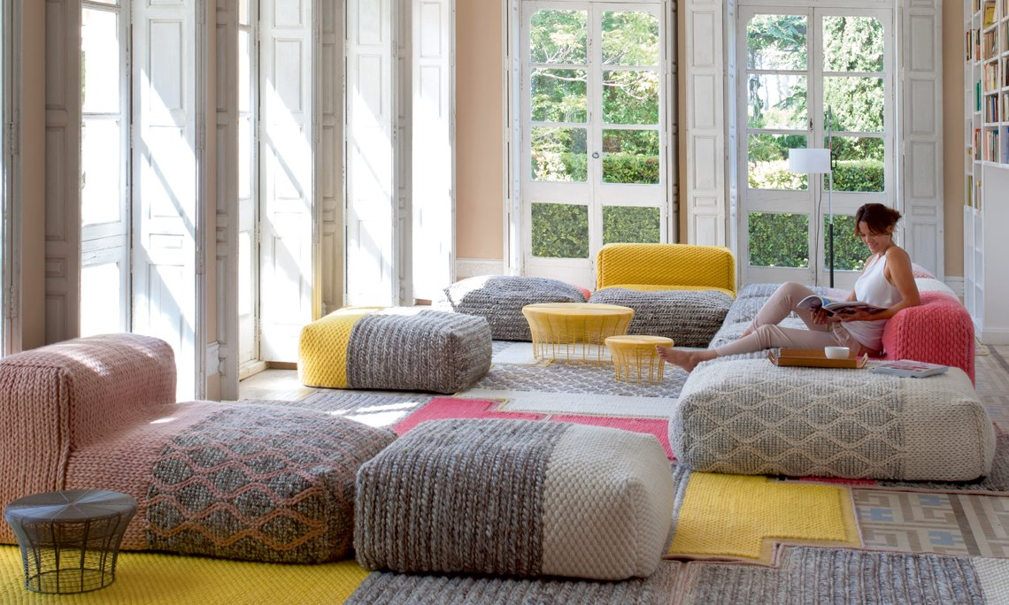 Spaces Mangas Space Rectangular Rugs from Gan Rugs, designed by Patricia Urquiola