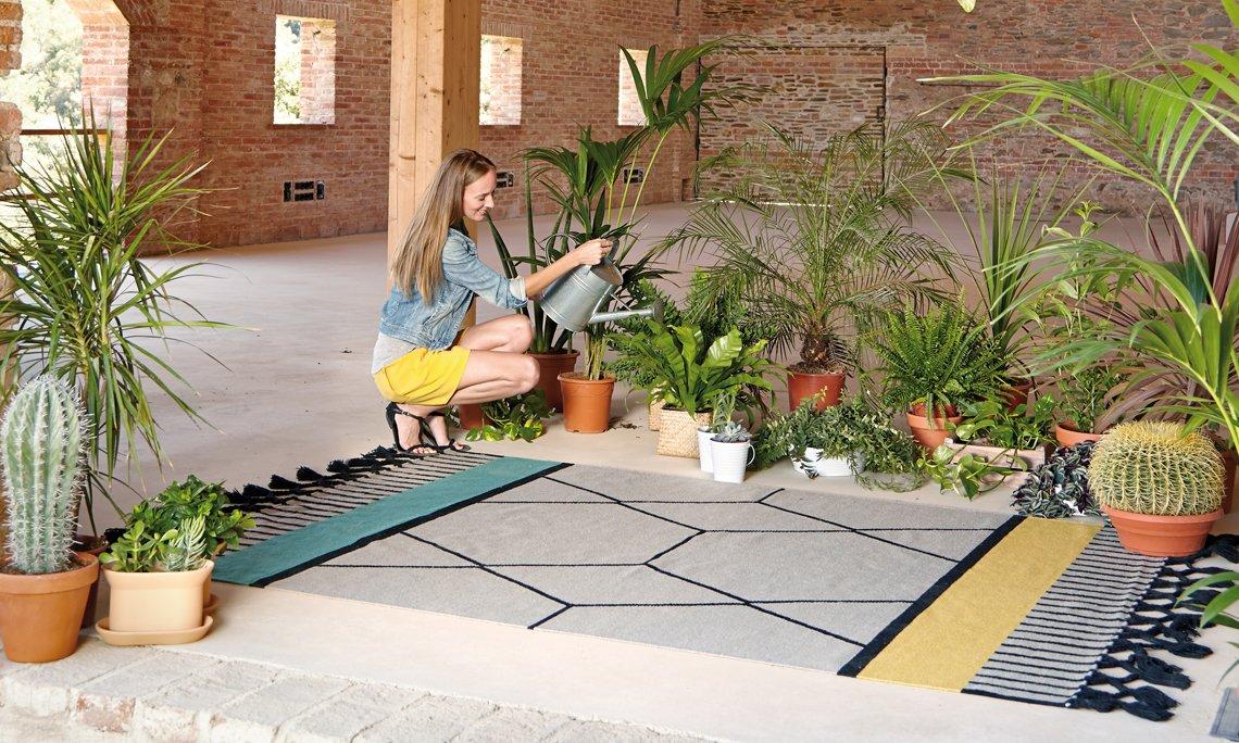 Kilim Lima Rugs from Gan Rugs, designed by Odosdesign