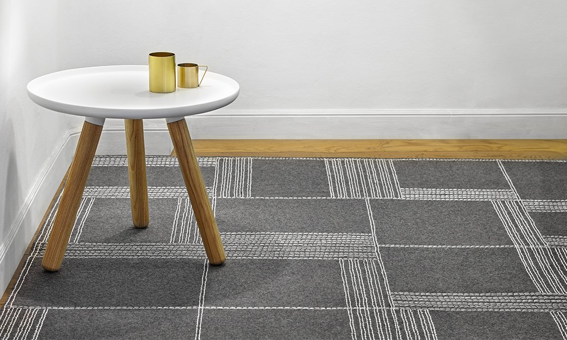 Felt Oryza Rugs from Gan Rugs, designed by Odosdesign