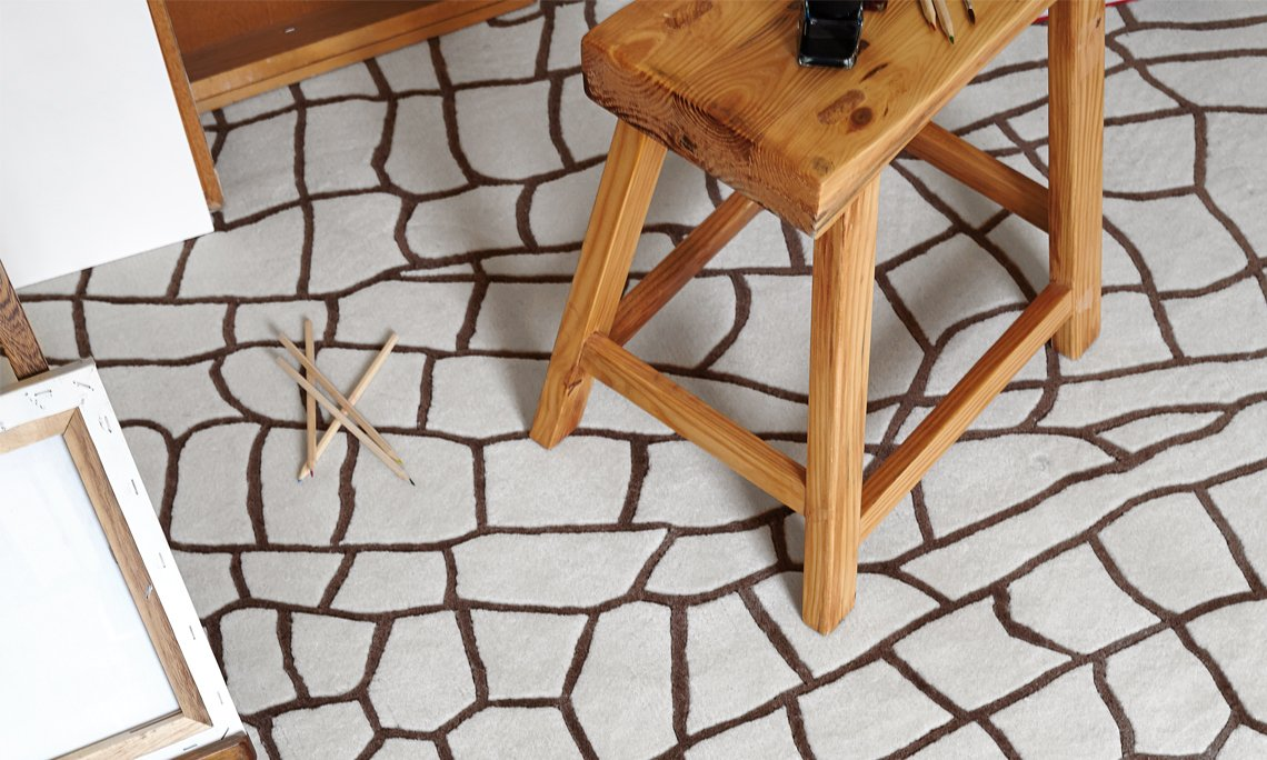 Hand Knotted Dragonfly Rugs from Gan Rugs