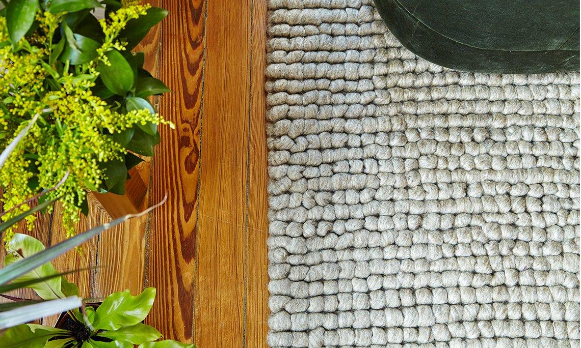 Hand Loom Hoot Rugs from Gan Rugs