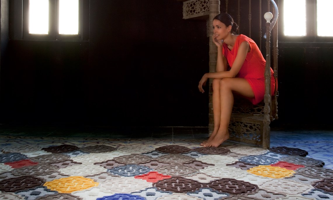 Hand Tufted Hidra Rugs from Gan Rugs, designed by Jose Gandía-Blasco Canales