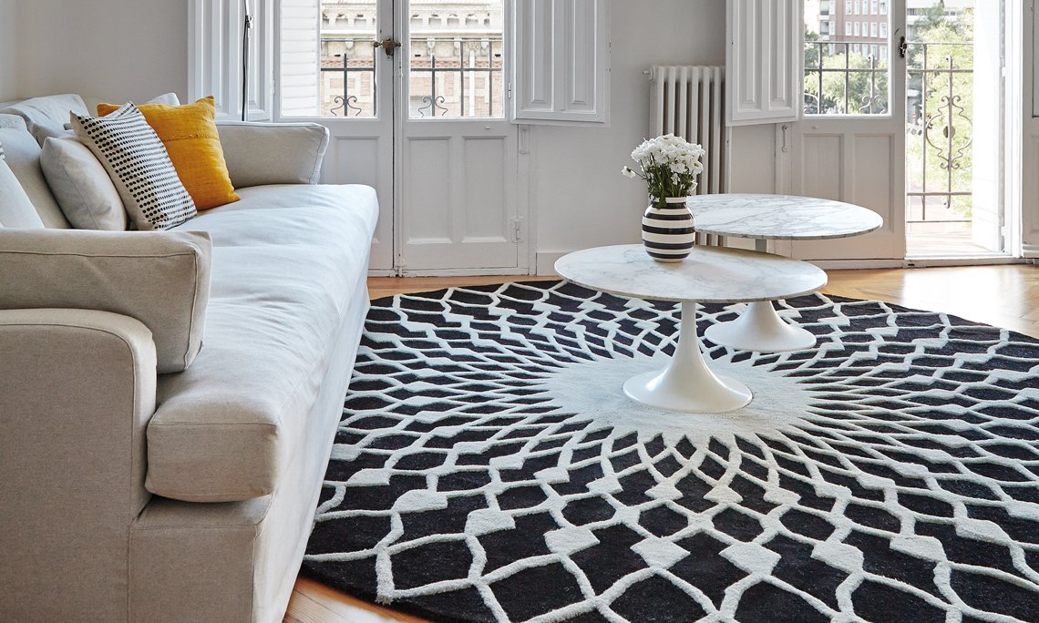 Hand Tufted Trama Rugs from Gan Rugs, designed by Odosdesign
