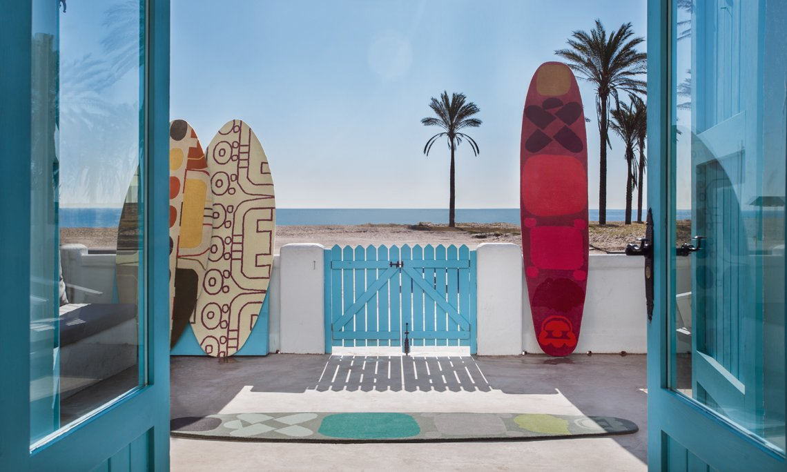 Hand Tufted Surf Rugs from Gan Rugs