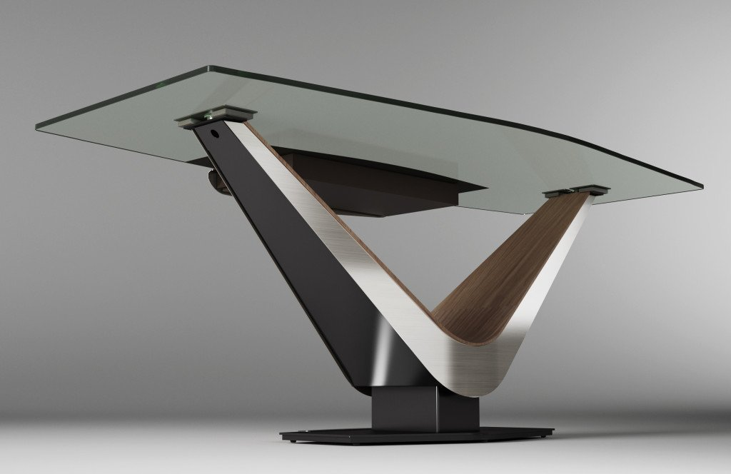Victor Desk from Elite Modern, designed by Carl Muller