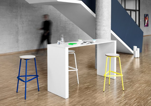 T60 Work Bar Table from Muller