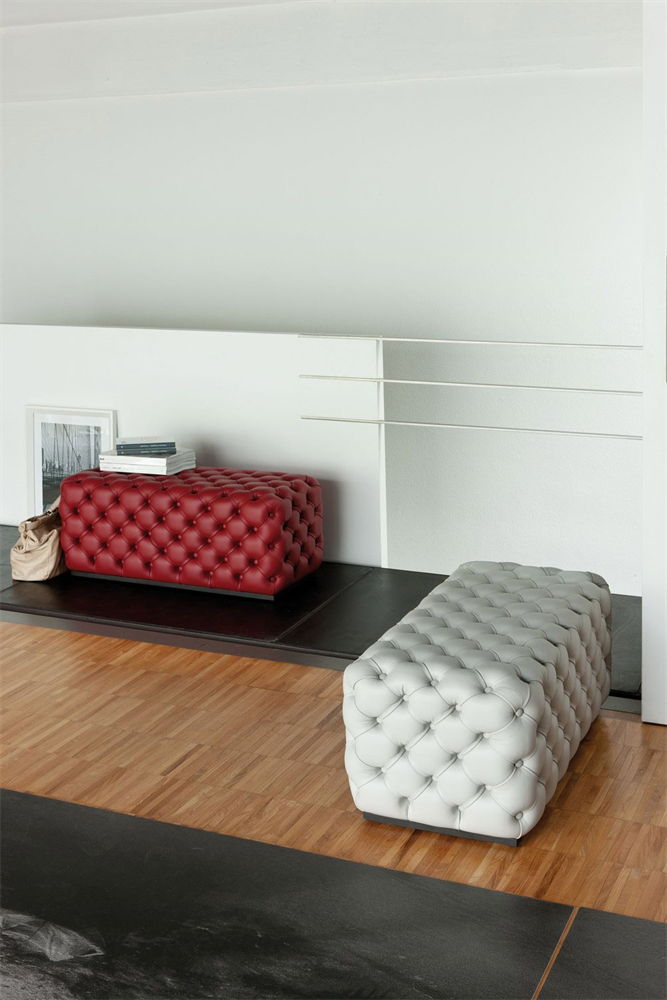 Alcide Pouf from Porada, designed by Otto Moon