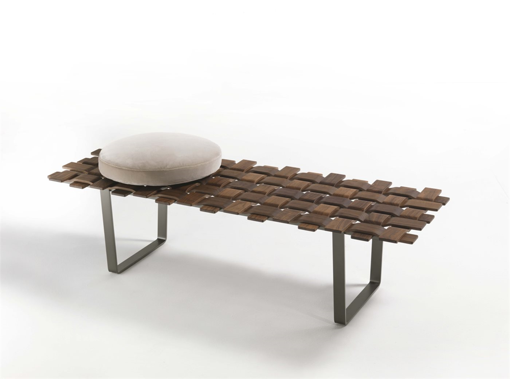 Belt Bench from Porada, designed by T. Colzani