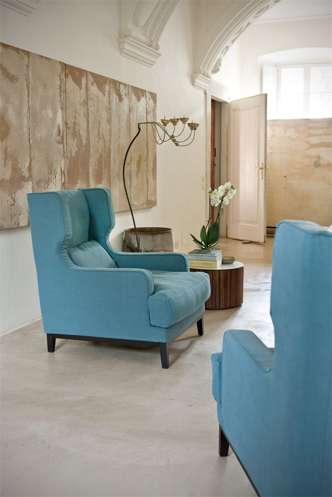 Camille Easy Chair lounge from Porada, designed by Opera Design
