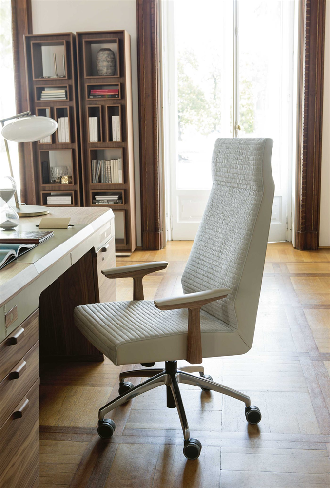 Elis Armchair office from Porada, designed by U. Asnago