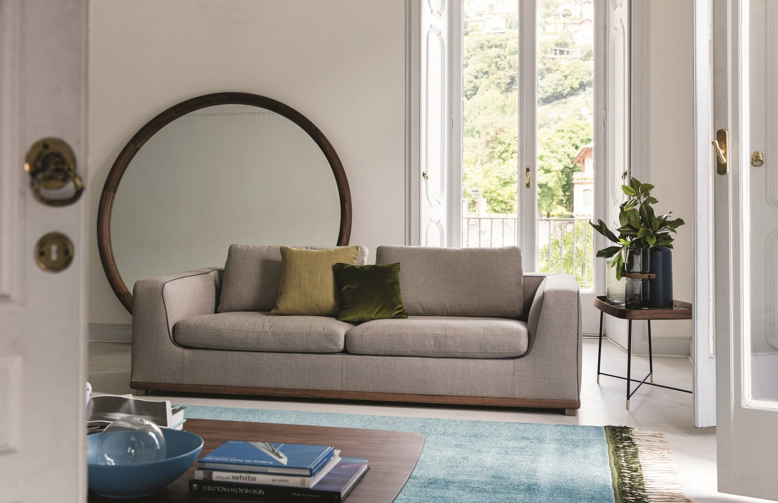 Kirk Modular Sofa from Porada, designed by C. Ballabio
