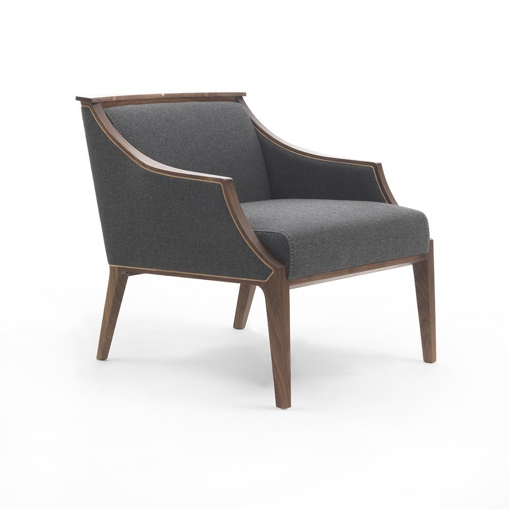Liala Easy Chair lounge from Porada, designed by U. Asnago