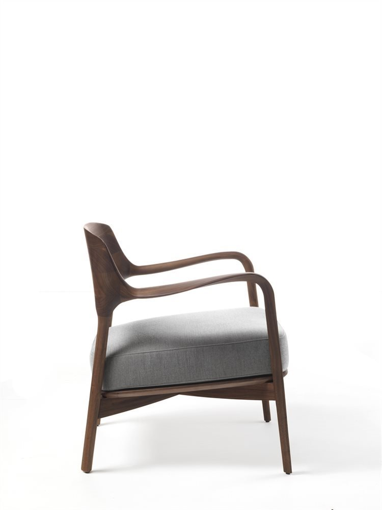 Louis Armchair from Porada, designed by Patrick Jouin