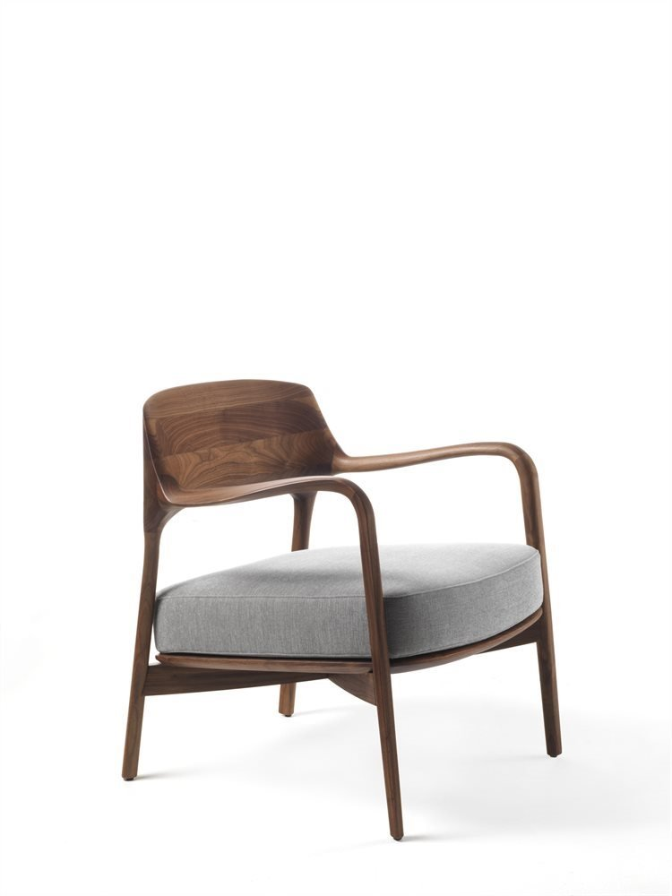 Louis Armchair lounge from Porada, designed by Patrick Jouin