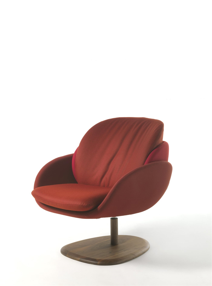 Opium Armchair lounge from Porada, designed by S. Bigi