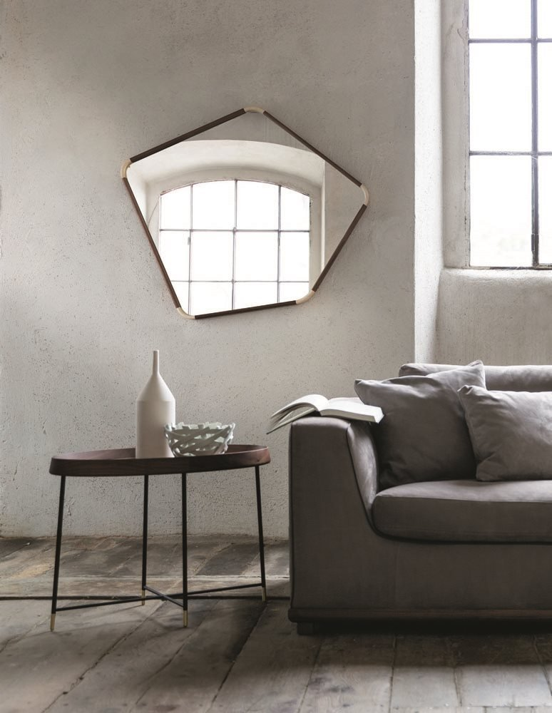 Fritz Side Table end from Porada, designed by C. Ballabio