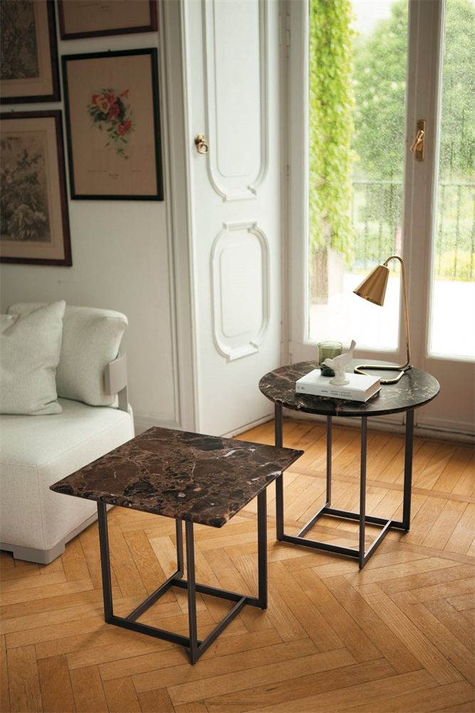 Londra Side Table coffee from Porada, designed by Opera Design