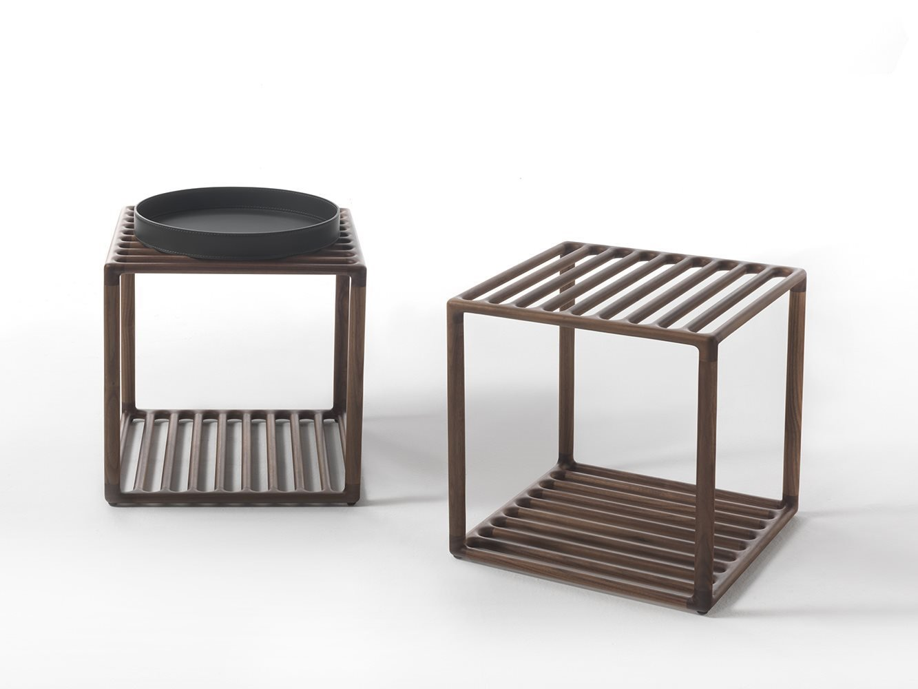 Raster Side Table coffee from Porada