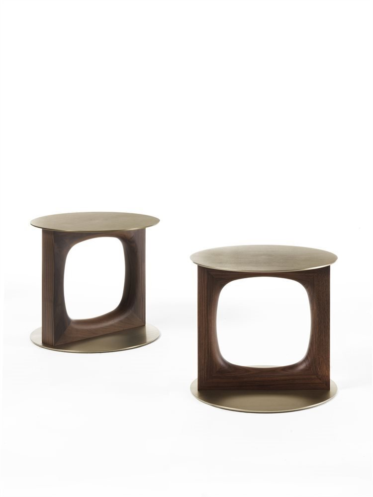 Tenco Side Table coffee from Porada, designed by C. Ballabio