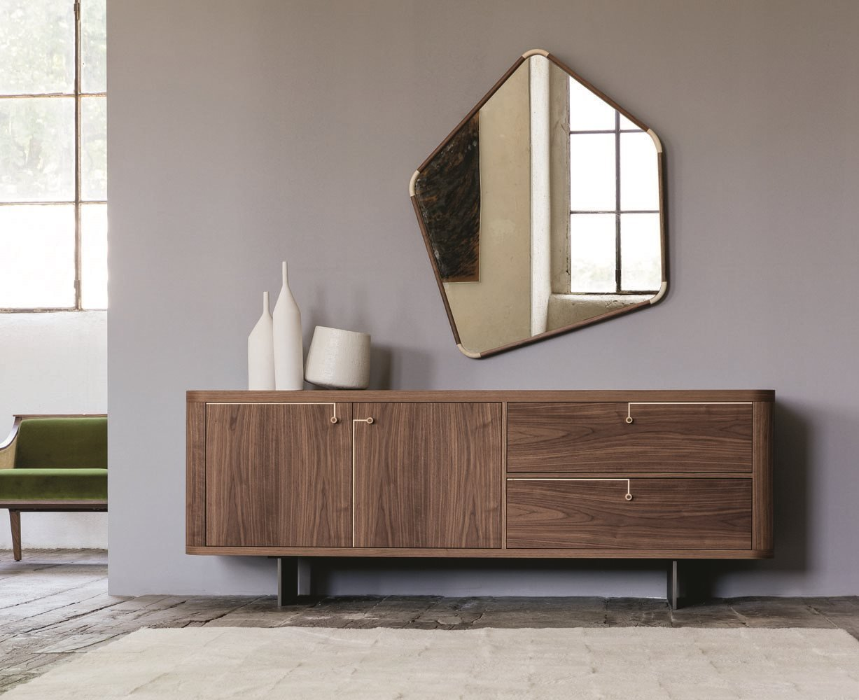 Rondo' 1 Cabinet from Porada, designed by U. Asnago