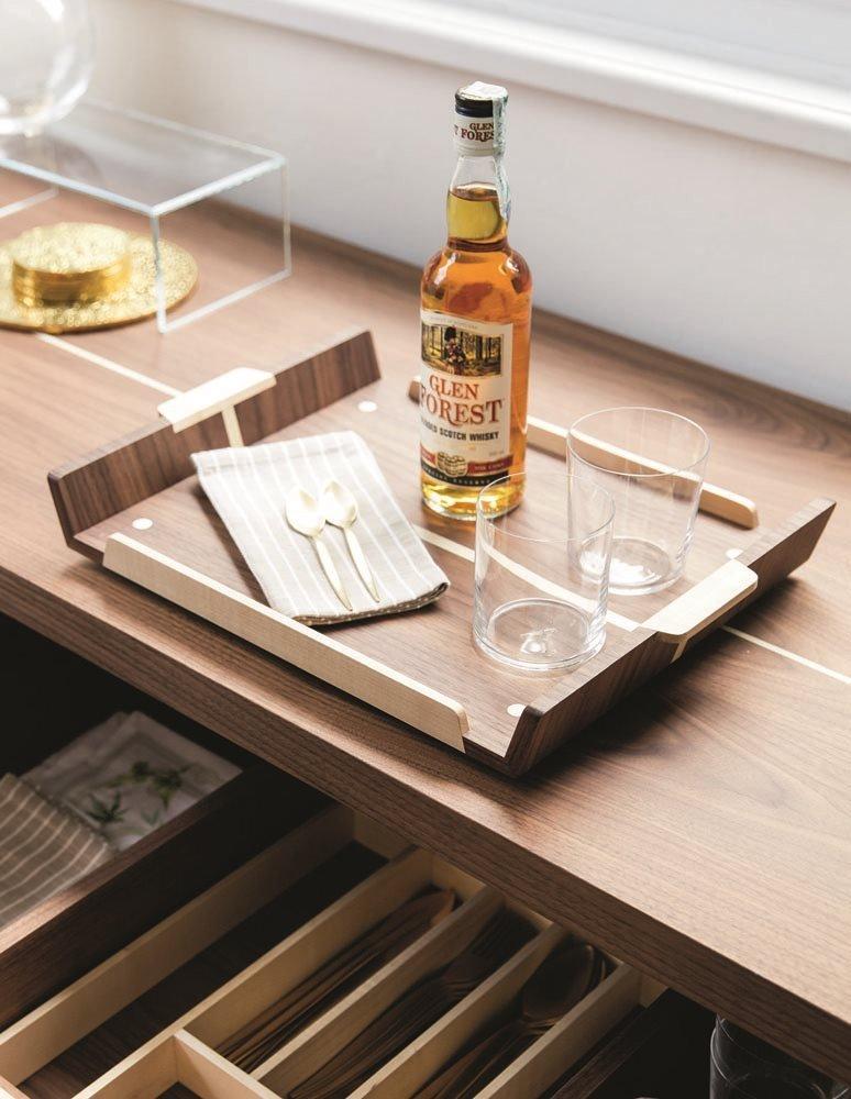 Rondo' 1 Cabinet from Porada, designed by U. Asnago