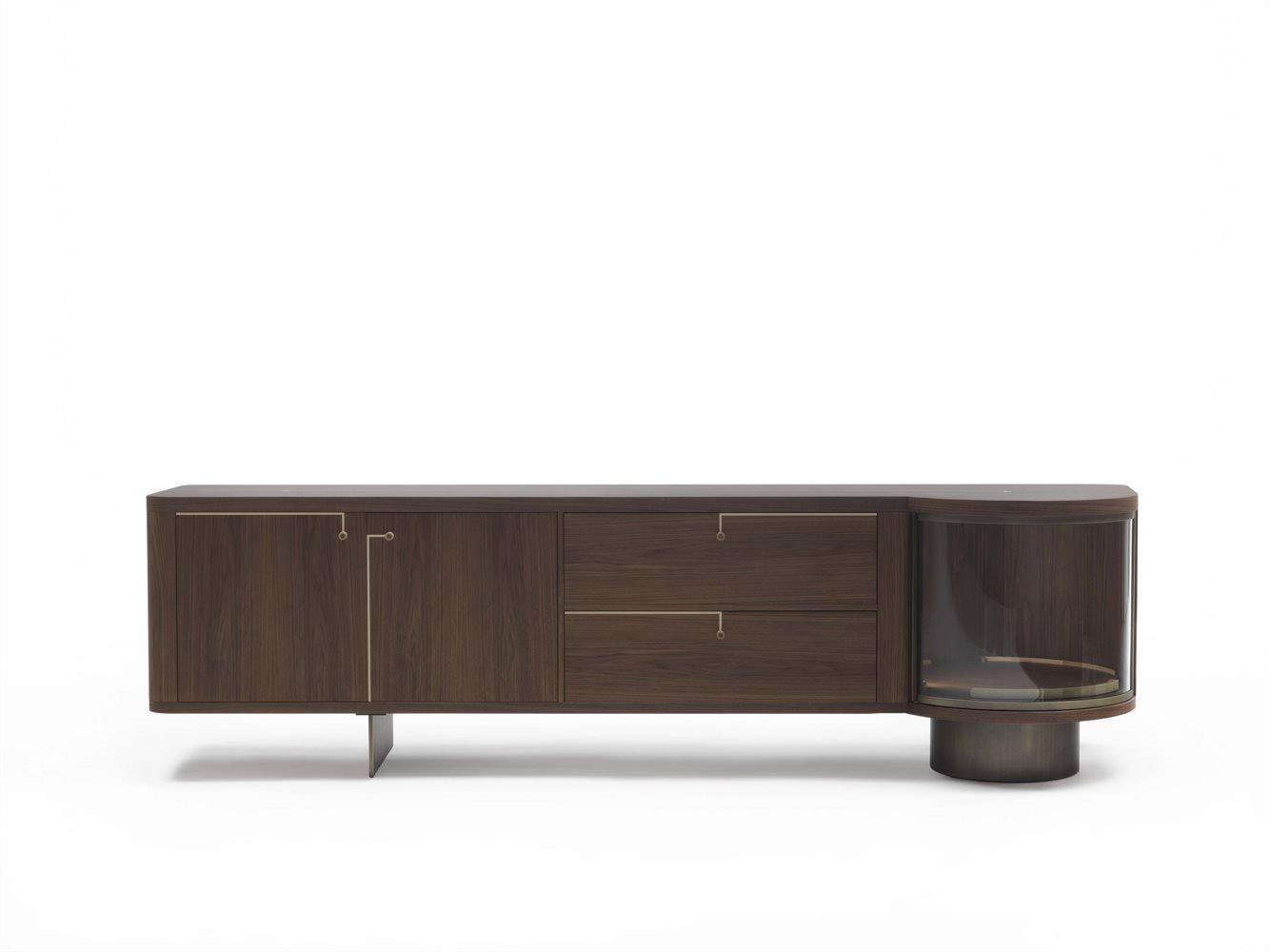 Rondo' 2 Cabinet from Porada, designed by U. Asnago