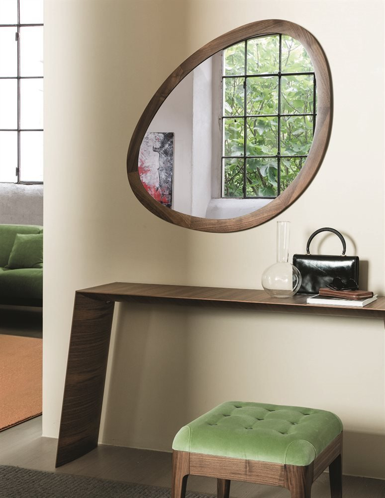 Giolino Mirror from Porada, designed by E. Garbin - M. Dell'Orto