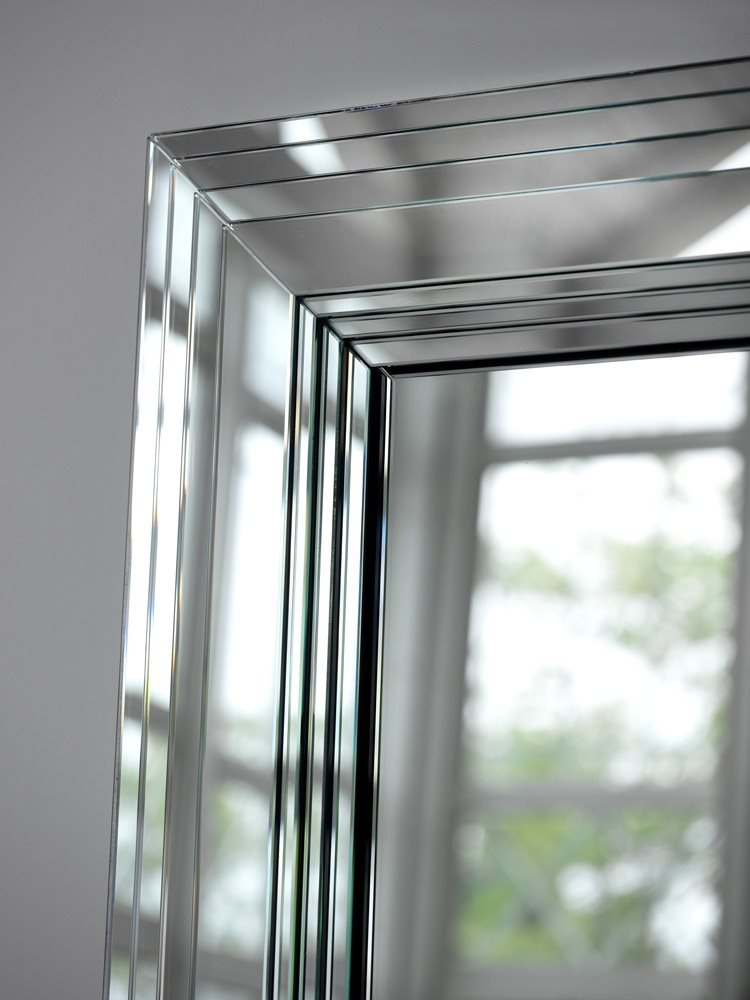 Maya Mirror from Porada, designed by M. & L. Dainelli