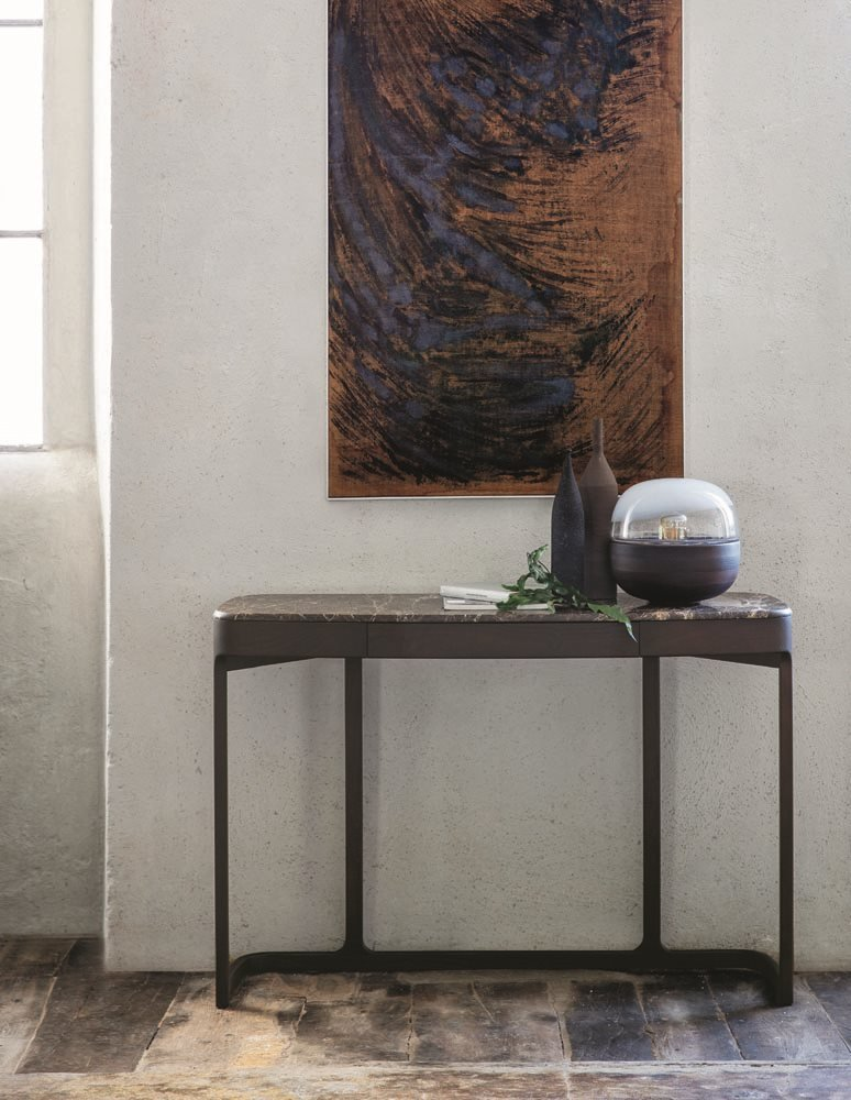 Blush Console Table from Porada, designed by E. Gallina
