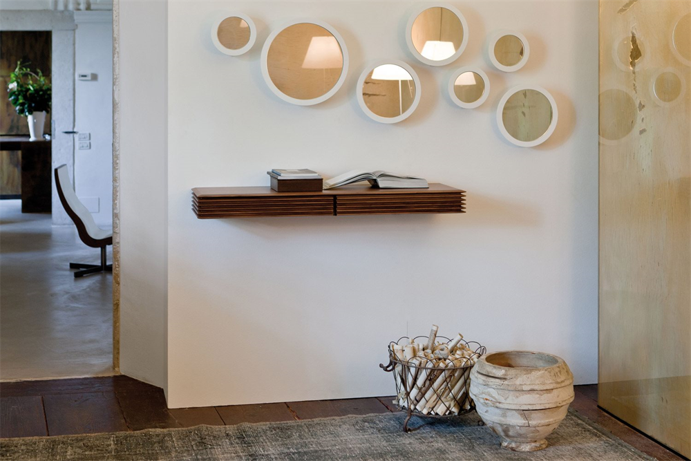 Lineas 117 Console Table from Porada, designed by T. Colzani