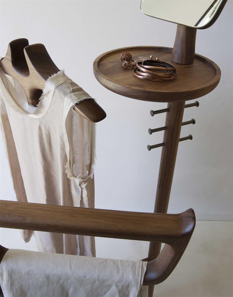 Sam Clothes Stand accessory from Porada, designed by C. Ballabio