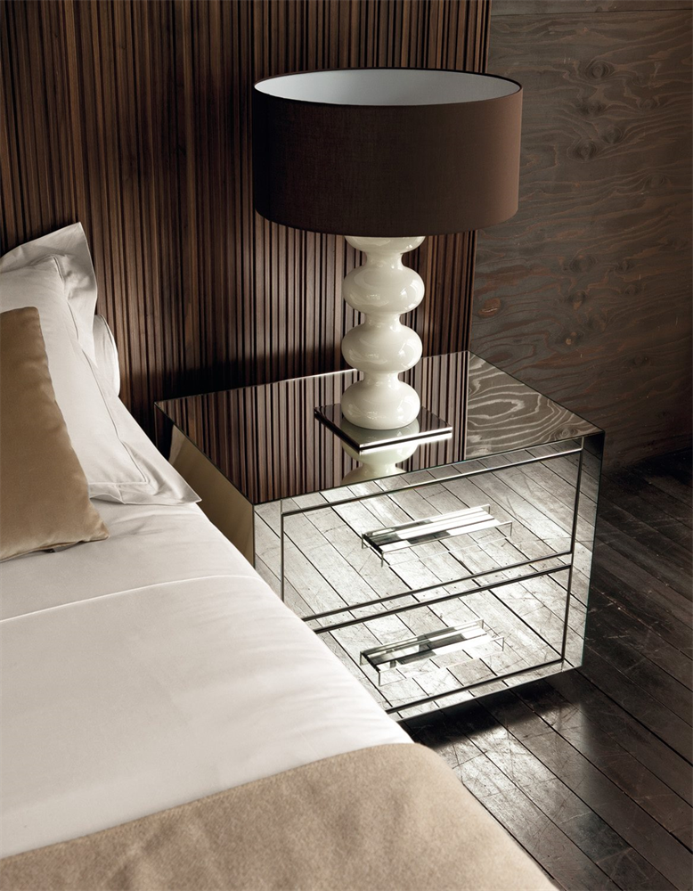 Queen 2 Night/Bedside Table from Porada, designed by Opera Design