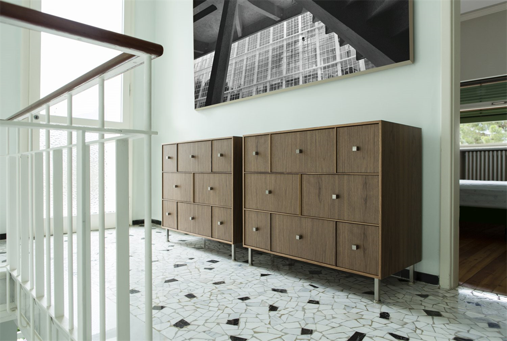 Rucellai Chest Drawer bed from Porada, designed by Otto Moon