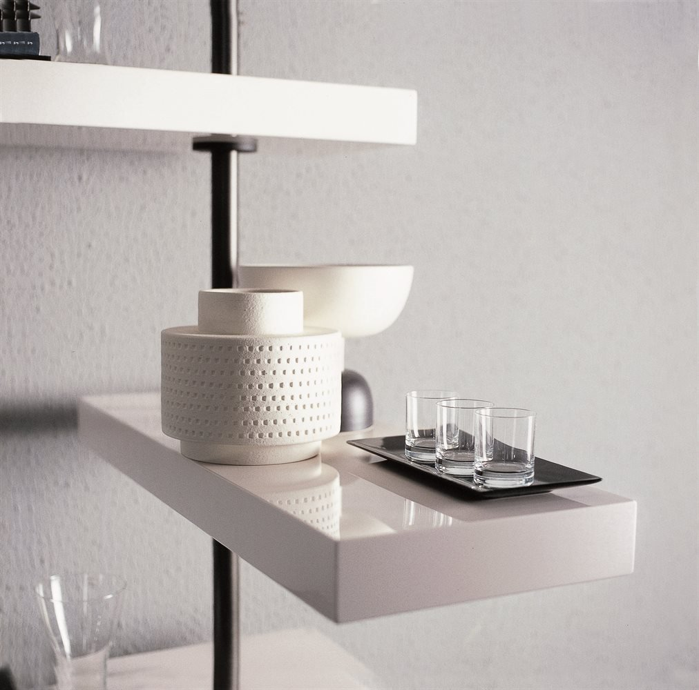 Domino Expo Wall System storage from Porada, designed by T. Colzani