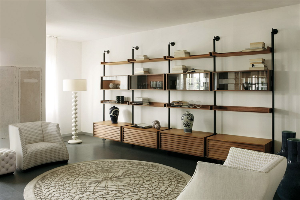 Ubiqua Wall System  storage from Porada