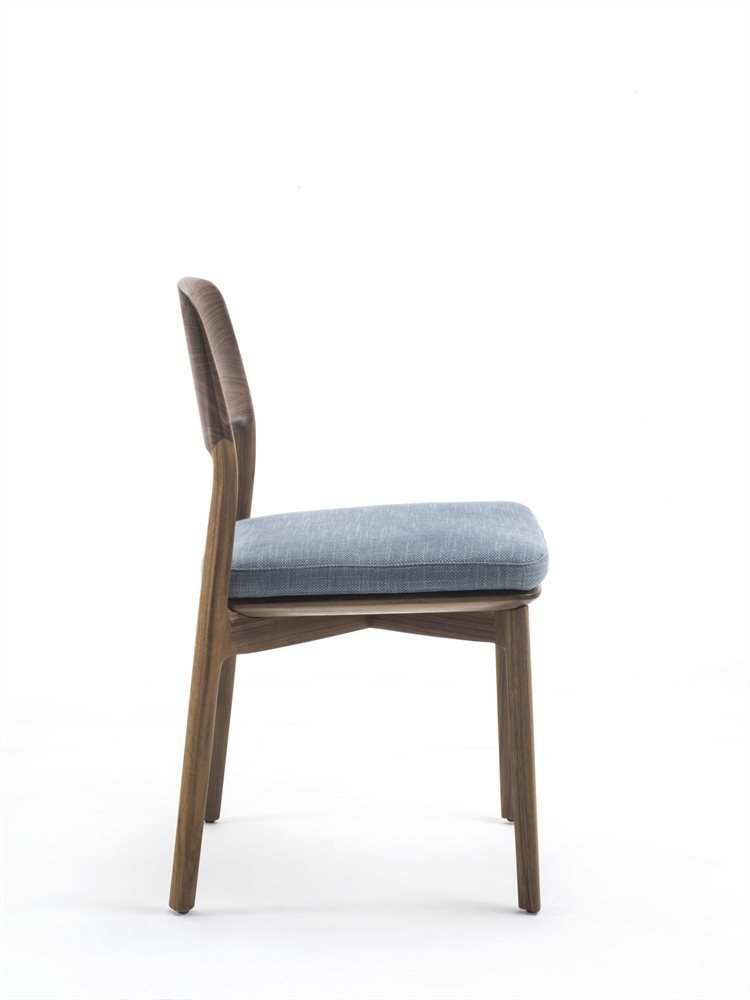 Emma Chair from Porada, designed by Patrick Jouin