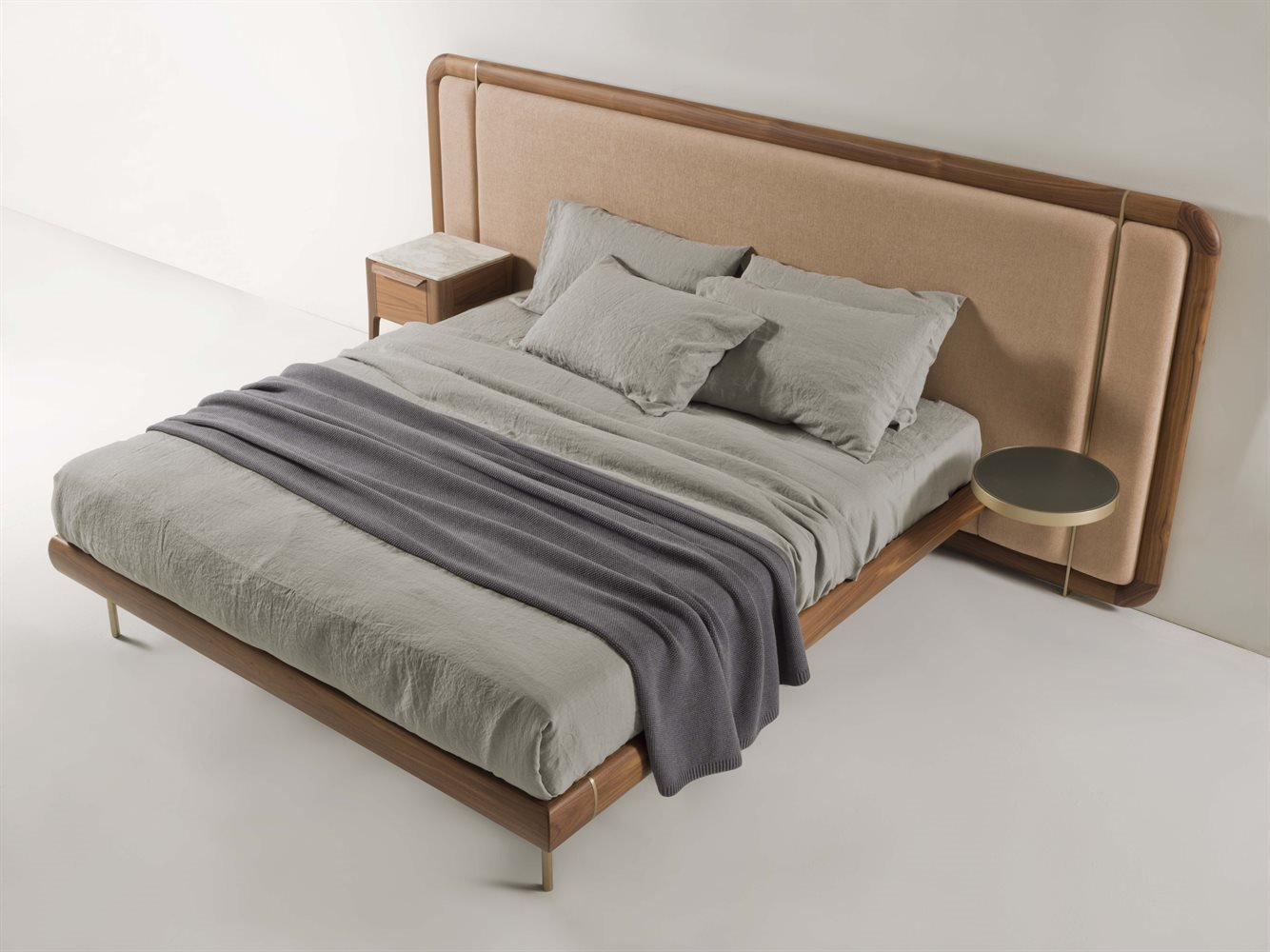 Killian Bed from Porada, designed by M. Marconato and T. Zappa