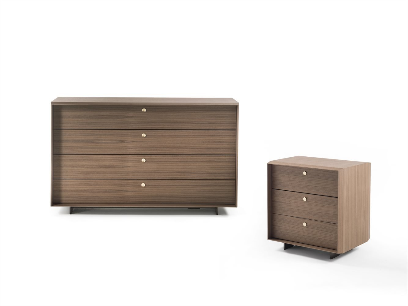 Sonja Night 2 Chest Drawer cabinet from Porada, designed by Gino Carollo