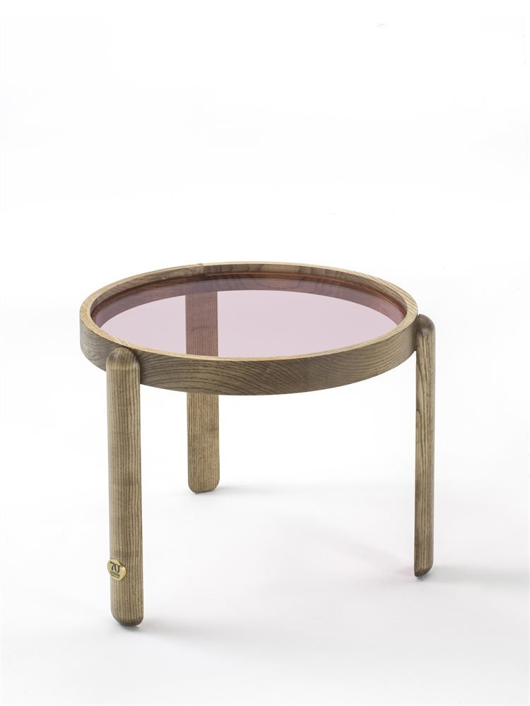 Trittico Side Table coffee from Porada, designed by Essetipi